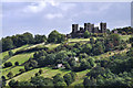 SK3059 : Riber Castle - from Heights of Abraham - Matlock by Brian Chadwick