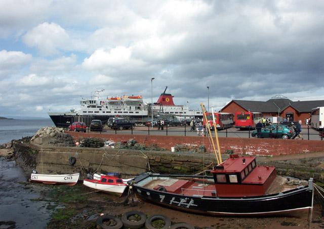 Brodick ferry terminal