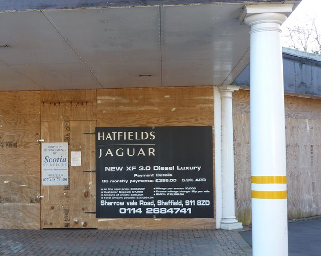 Former Jaguar Showrooms