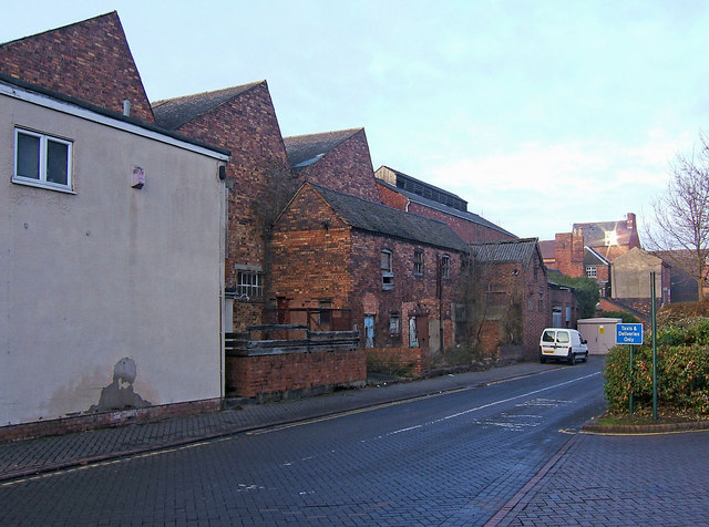 Disused factory, Station Street