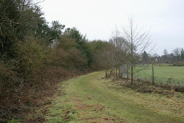 Bridleway to Priorsfield Road