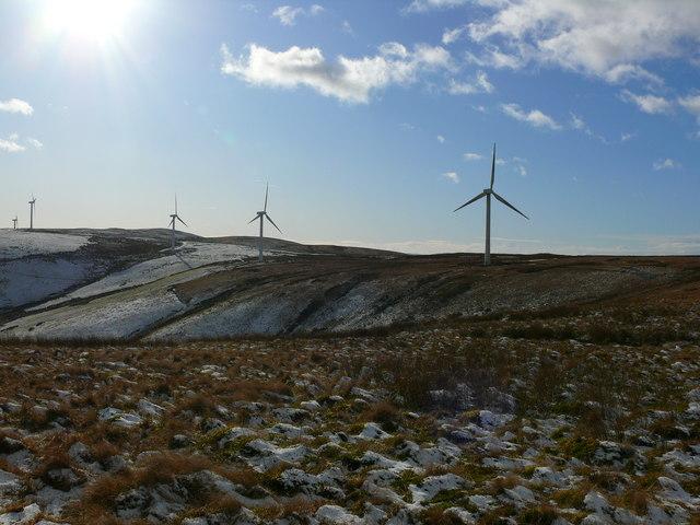 Fferm wynt Cemmaes / Cemmaes Wind farm