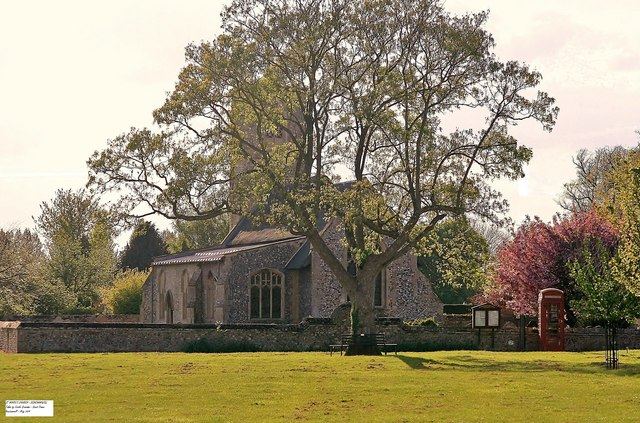 Beachamwell Church - St Mary's Cof E