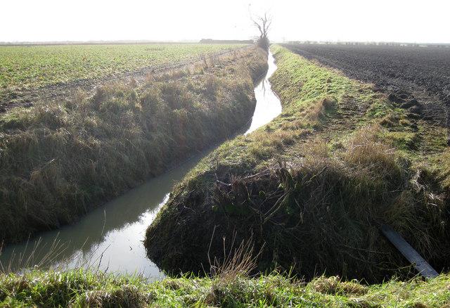 Norton catchwater drain