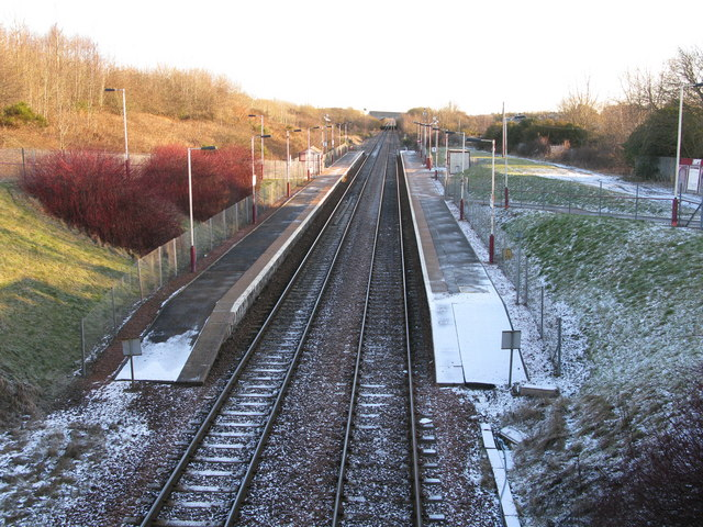 Carmyle Railway Station