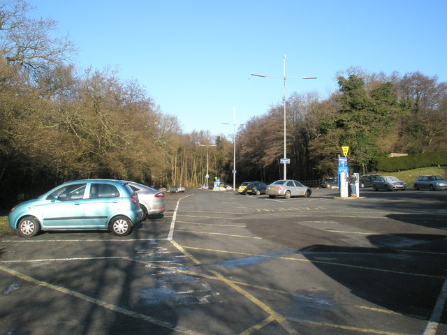 Car park at Clement Corner
