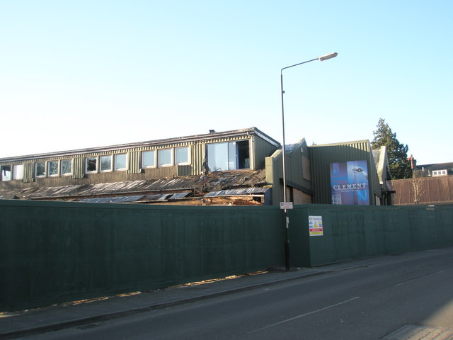 Demolition site just off the B2131