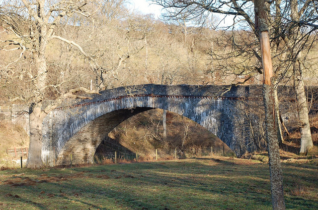 Ashiestiel Bridge, River Tweed