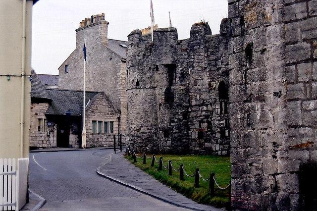 Castletown - Castle Rushen and Police Station