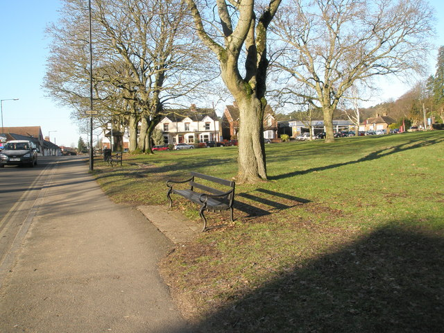 Seats on St Christopher's Green