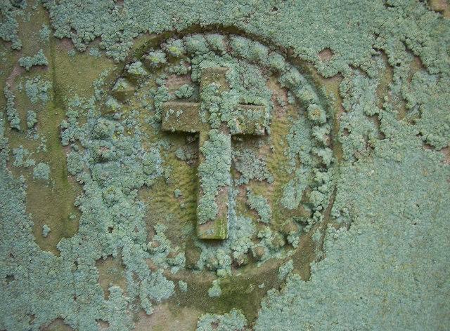 Lichen Growth, St. Maurice's Churchyard