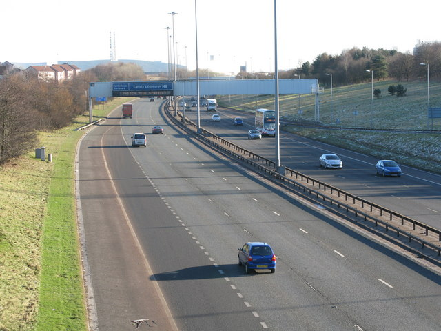 M8 at Junction 11