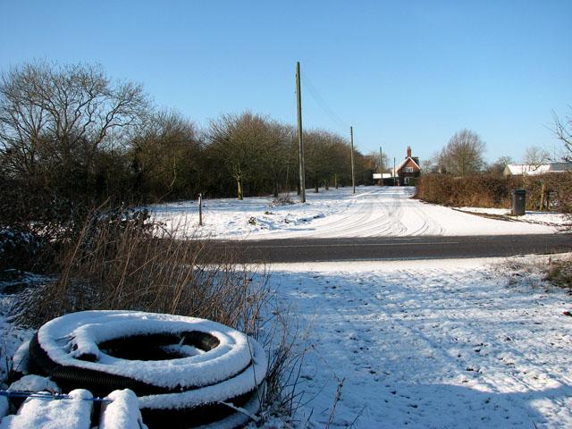 The road to Bethel Farm