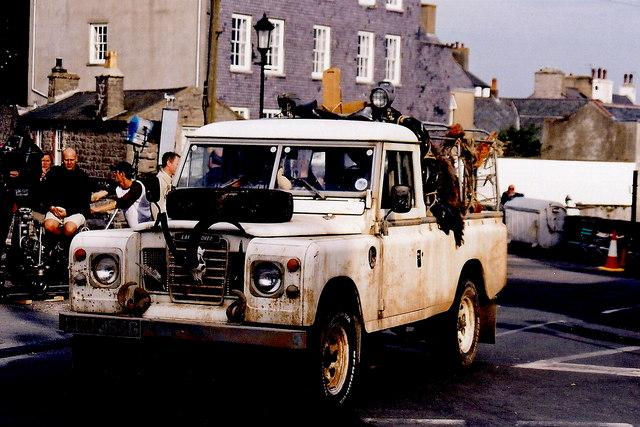Castletown - Filming a BBC movie near Castle Rushen