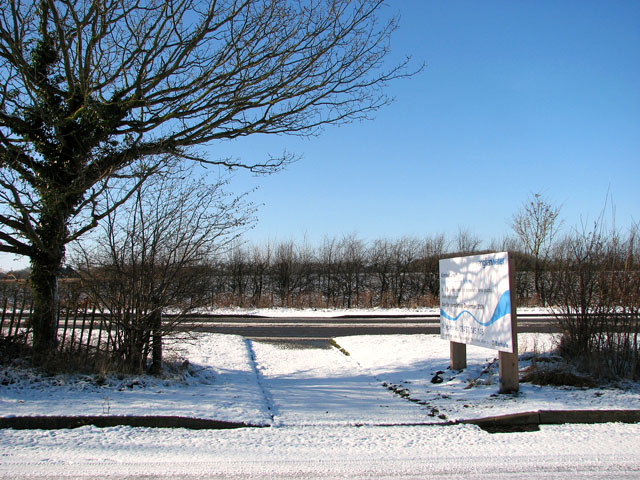 A few metres of path