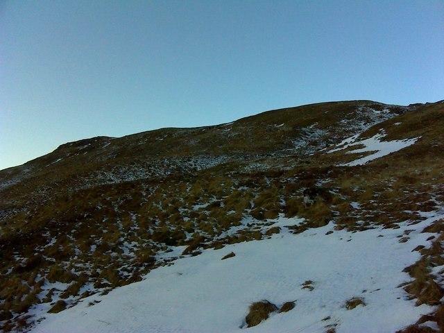 Slope onto Beinn nan Clach