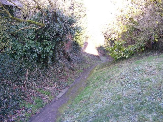 Footpath, Badbury