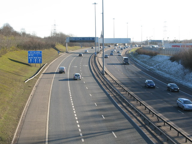 M8 at Junction 9