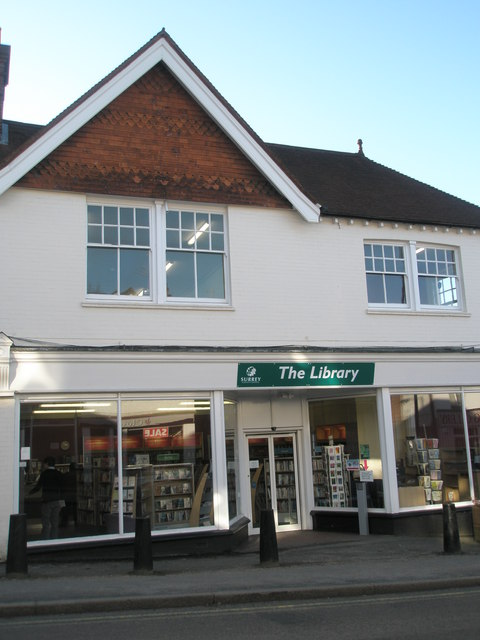 The Library in Weyhill
