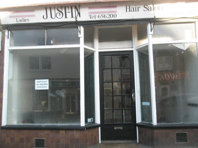 Shop to let opposite Weyhill Library