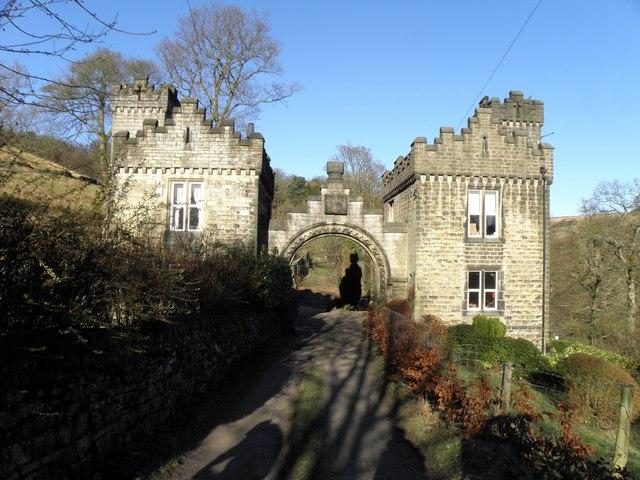 Castle Carr Lower Lodge in Winter