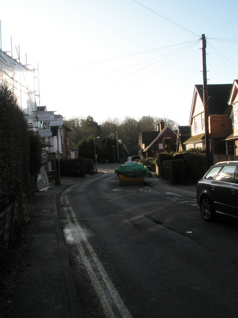 Mid section of St Christopher's Road
