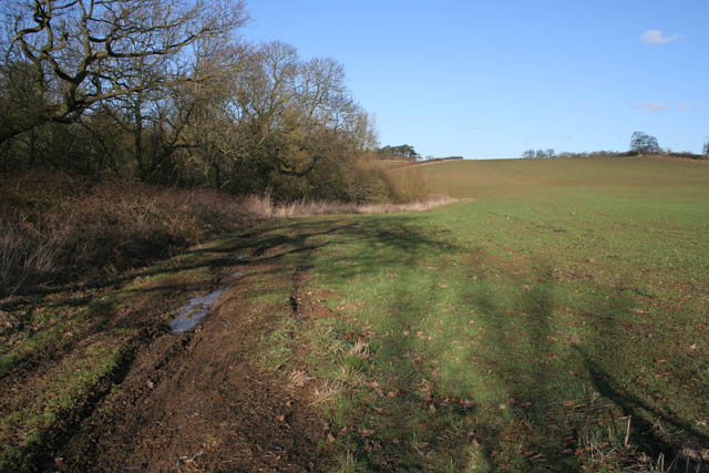 Farmland near Croxton Kerrial.