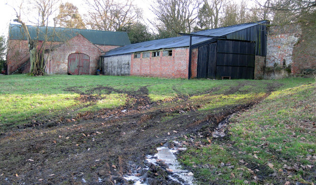 Outbuildings Moortown House Farm