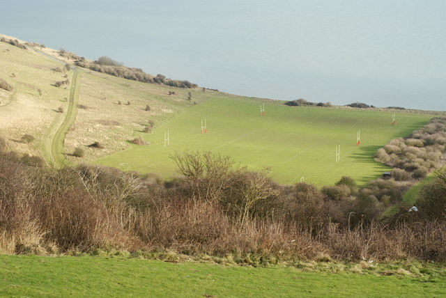 Sports Pitches at Holywell, Sussex