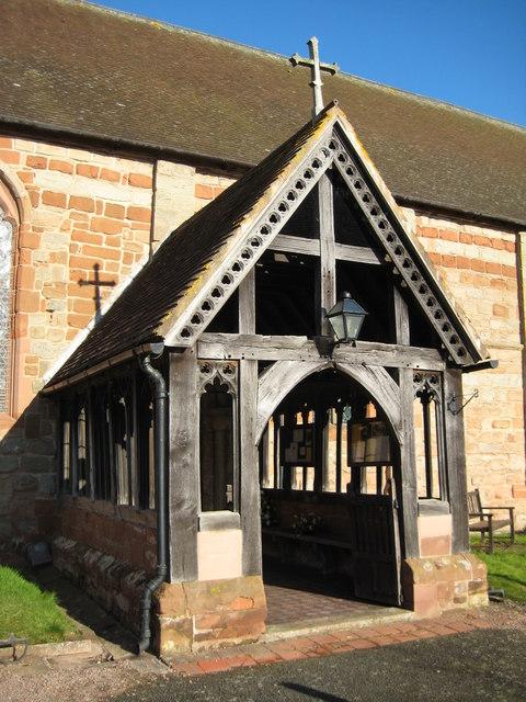 Porch to Martley Church