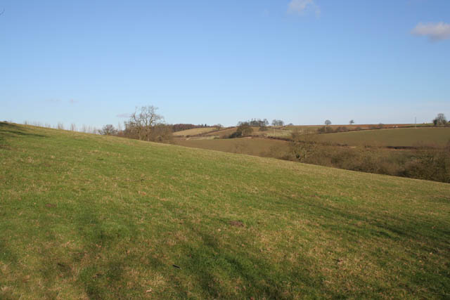 Rolling farmland near Croxton Kerrial