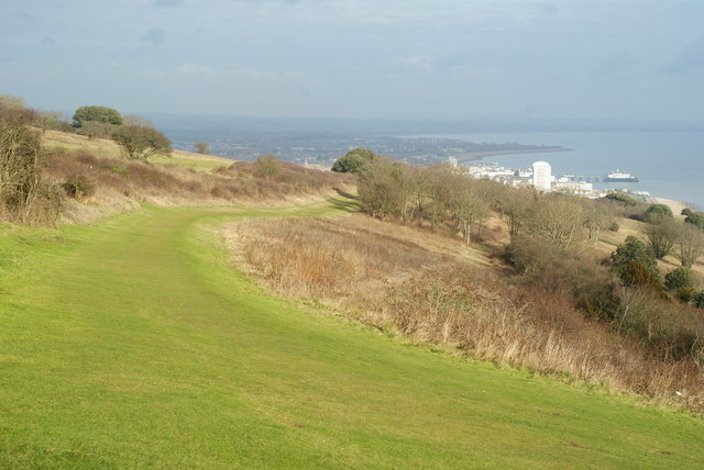 South Downs Way, Near Eastbourne