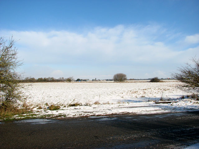 View across Seething Airfield from Toad Lane