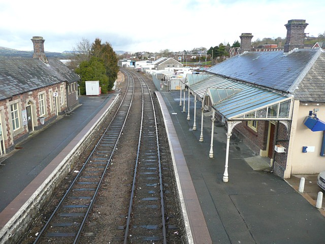 The railway station, Llandrindod Wells