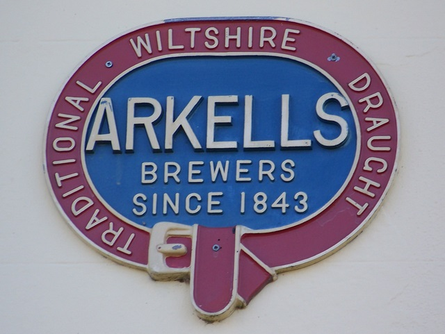 Arkells sign, Bakers Arms