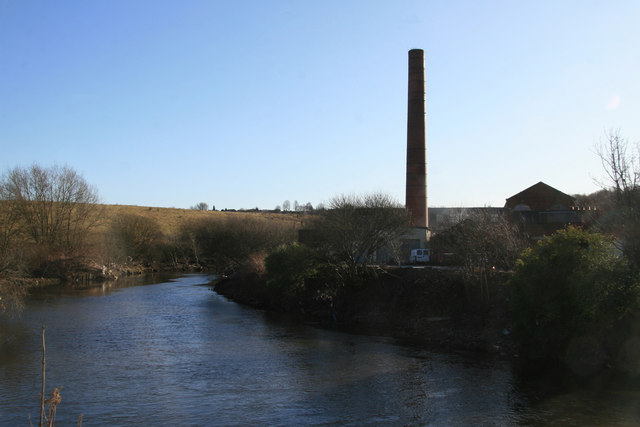 Pioneer Mill and River Irwell