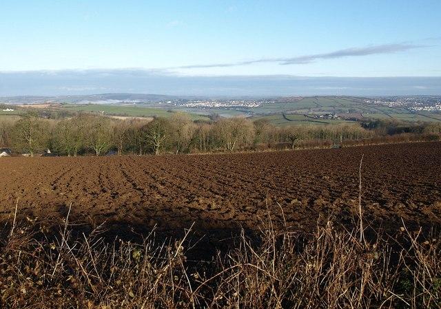 Ploughed field, St Ingunger