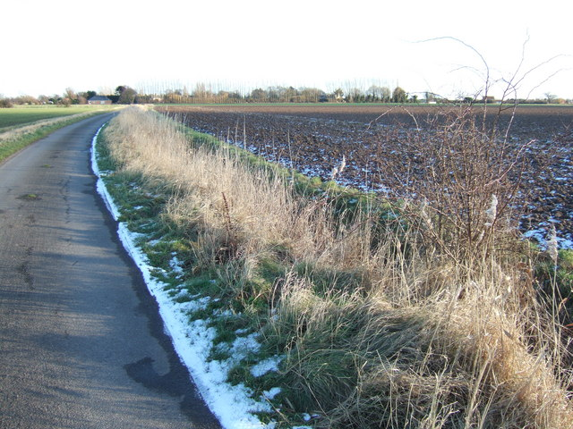 Roadside snow