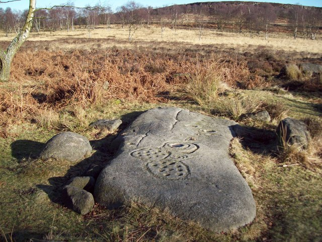 Replica 'Cup and Ring' Rock Art