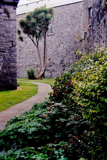 Castletown - Gardens along southwest castle walls