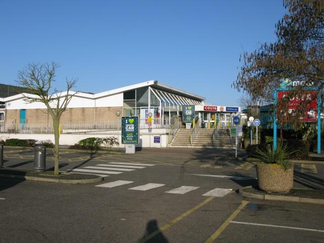 Farthing Corner service station