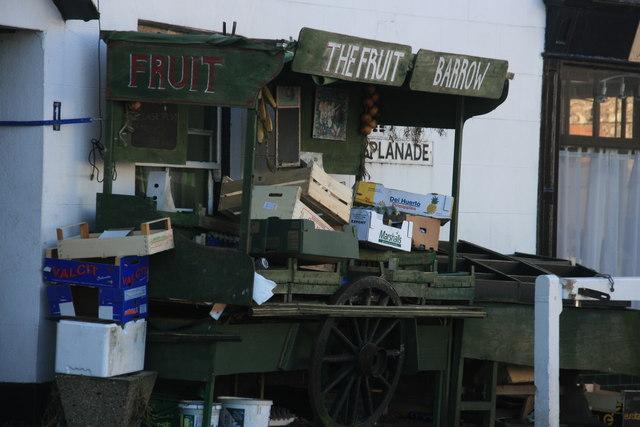 The Fruit Barrow, The Esplanade, Watchet