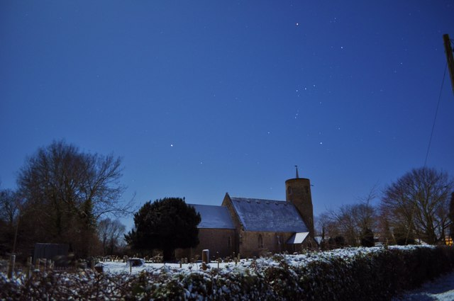 Seething Church and Orion
