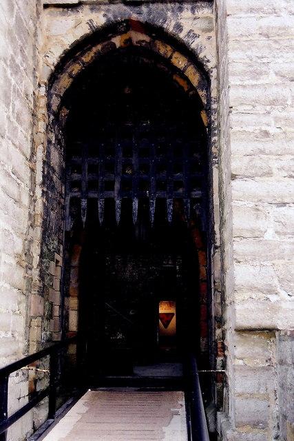 Castletown - Castle Rushen - Second of two entrances