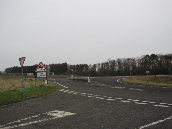 Roads leading to the A1