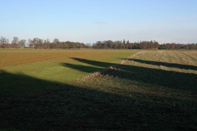 Farmland near Denton