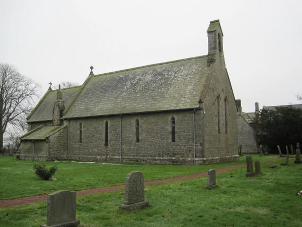 Church of St James, South Charlton (Eglingham)