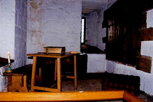Castletown - Castle Rushen - Lord's treasury room
