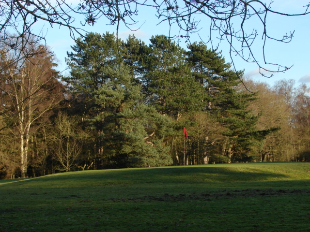 Golf course, Gracious Pond Road