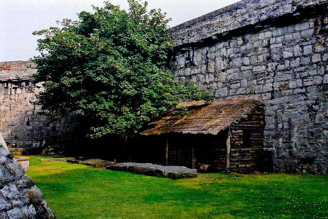 Castletown - Castle Rushen - Outdoor area within walls
